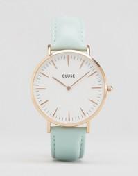 Часы со светло-бирюзовым кожаным ремешком Cluse La Bohème CL18021