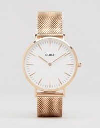 Часы цвета розового золота Cluse La Bohème CL18112 - Розовое золото
