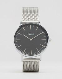 Часы с черным циферблатом Cluse La Bohème CL18106 - Серебряный