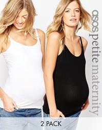 2 майки для кормления ASOS Maternity PETITE NURSING - СКИДКА 10%