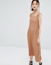 Платье в мелкую складку Zacro - Пыльная роза