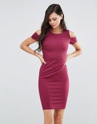 Платье-футляр миди Jessica Wright Avery - Насыщенный розовый