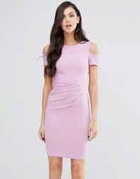 Платье-футляр миди Jessica Wright Avery - Сиреневый