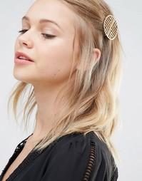 Заколка для волос DesignB London - Золотой