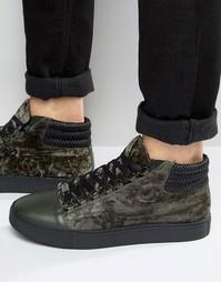 Высокие кроссовки Glorious Gangsta Paris - Зеленый