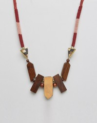 Ожерелье Pieces Perri - Розовый