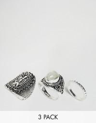 Наборные кольца DesignB London - Серебряный