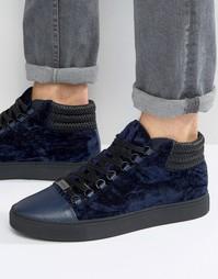 Высокие кроссовки Glorious Gangsta Paris - Темно-синий