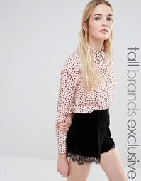 Рубашка с принтом Fashion Union Tall - Мульти