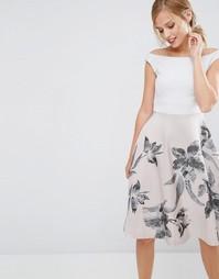 Платье с расклешенной юбкой Coast - Мульти