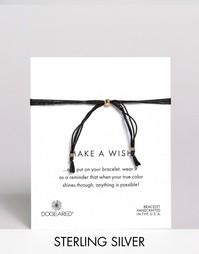 Регулируемый браслет из нескольких шелковых нитей Dogeared Make A Wish