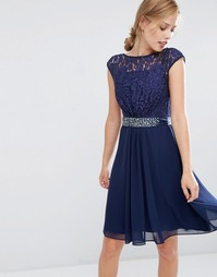 Coast Lori Lee Lace Dress - Темно-синий