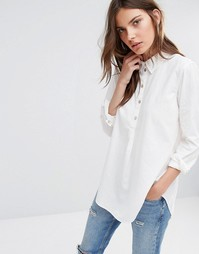 Рубашка на пуговицах Vila - Белый