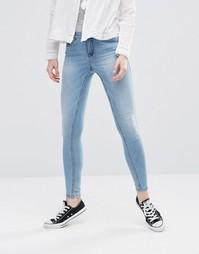Ультразауженные джинсы Noisy May Lucy - Светло-голубой
