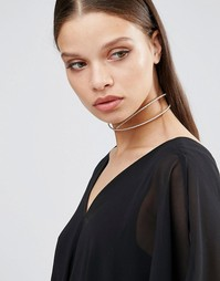 ALDO Cross Choker - Золотой