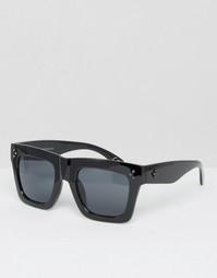 Солнцезащитные очки в массивной оправе Toyshades