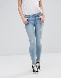 Рваные джинсы 30 Noisy May Lucy - Светло-голубой
