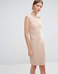 Платье с короткими рукавами Vero Moda - Розовая пыль