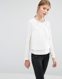 Лонгслив Vero Moda - Снежно-белый