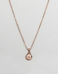 Ожерелье с небольшой эмалированной пуговицей Ted Baker