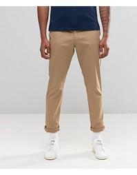 Зауженные эластичные брюки чинос Original Penguin - Рыжий
