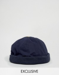 Темно-синяя кепка Reclaimed Vintage - Темно-синий