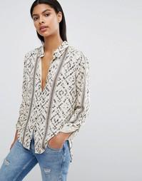 Рубашка с принтом Vila - Ракушка
