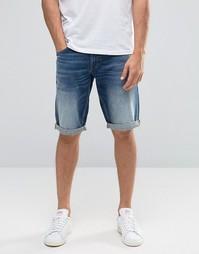 Потертые джинсовые шорты Celio - Double stone