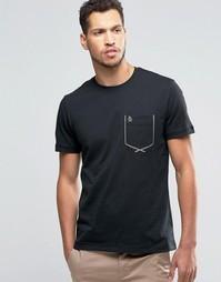 Футболка с карманом Original Penguin - Черный