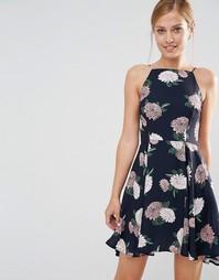 Платье на бретельках с цветочным принтом Keepsake