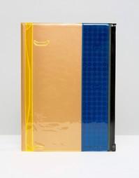 Синий блокнот с отделением для хранения - Синий Gifts