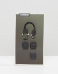 Универсальный черный микро USB-коннектор Urbanears - Черный