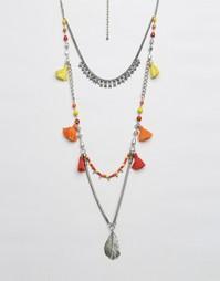 Ожерелье с кисточками Glamorous - Мульти