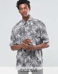 Свободная фестивальная рубашка Reclaimed Vintage - Серый