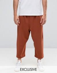 Свободная юбка‑шорты Reclaimed Vintage - Красно-бурый