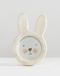 Sass & Belle Bunny Photo Frame - Мульти