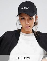 Бейсболка с вышивкой Adolescent Clothing On Vaccy - Черный