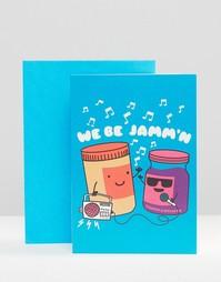 Открытка We Be Jammn - Мульти Gifts