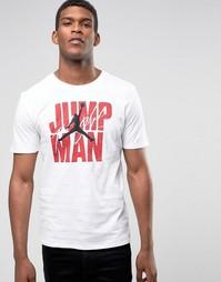Белая футболка Nike Jordan Jumpman 801070-100 - Белый