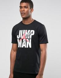 Черная футболка Nike Jordan Jumpman 801070-010 - Черный