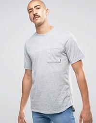 Серая футболка в крапинку Nike SB 800163-063 - Серый