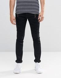 Черные джинсы с молниями Loyalty & Faith - Черный