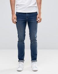 Облегающие джинсы Cheap Monday - Ясно-голубой