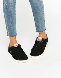 Замшевые кроссовки Gola Equipe - Черный