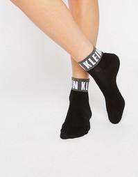 Носки с фирменным логотипом Calvin Klein - Черный