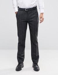Темно-серые брюки слим Bellfield - Серый