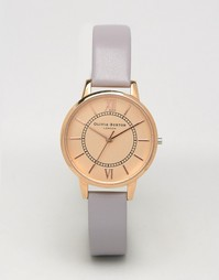 Olivia Burton Lilac & Rose Wonderland Watch OB15WD29 - Сиреневый