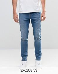 Выбеленные зауженные джинсы Brooklyn Supply Co Contrast