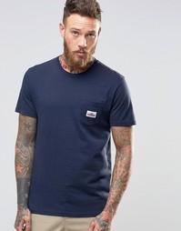 Футболка с логотипом на кармане Penfield - Темно-синий