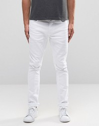 Белые джинсы скинни Selected Homme - Белый